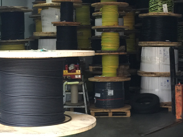Stack of Boat Wires